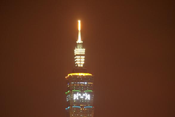 台北101花火