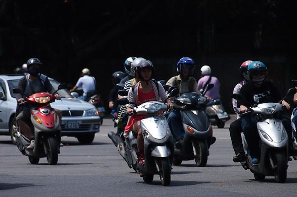 台北市のスクーター