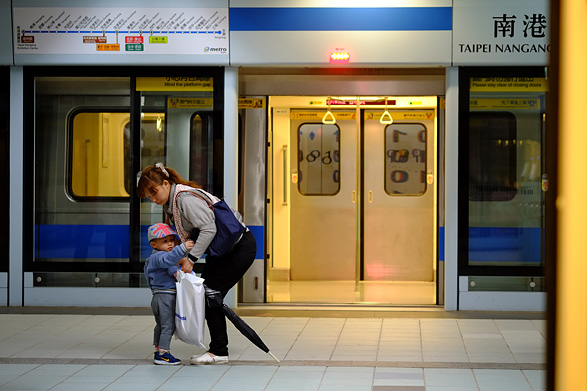 MRT南港展覧駅