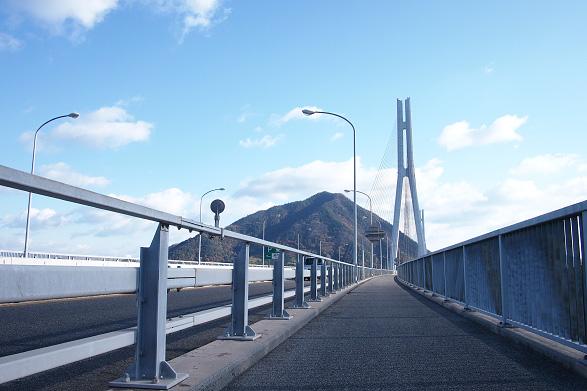 多々羅大橋サイクリングロード