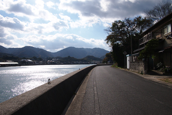 高根島の周回路