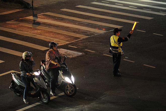 台北のスクーター
